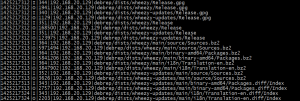 apt-cache log